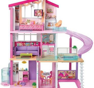 ​Barbie Dreamhouse Dollhouse with Pool, Slide and Elevator